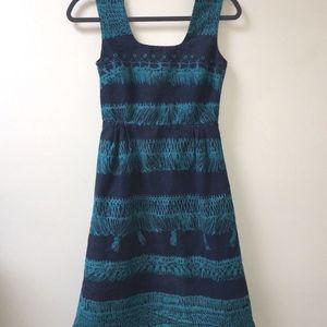 ANTHROPOLOGIE Girls from Savoy Cotton Dress Size 4